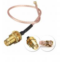 Buy cheap DC To 6GHz Coaxial Cable Connectors , RG316 Waterproof Sma Connector product