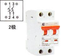 Buy cheap High Breaking Small Sized Circuit Breakers B7-63/DC Series product