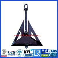 Buy cheap Marine Anchor Flipper Delta type, High Holding Power product