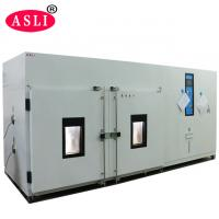 Buy cheap Walk-In Climate Test Chamber For Low High Temperature And Humidity Testing product