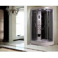 Quality Large Quadrant Shower Cubicle Shower Corner Unit With Sector Shape Sitting Bathtub for sale