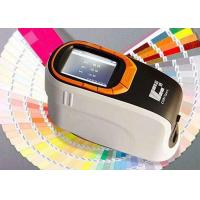 Buy cheap 360-740nm Wavelength Portable Color Spectrophotometer SCI And SCE Test Mode product