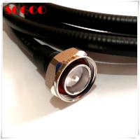 Buy cheap 4.3-10 Rf Cable Assemblies Connector 7/16 Din Male For 1/2 Super Flexible Cable product