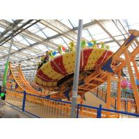 Buy cheap Frp Material Amusement Park Machines , Thrilling Flying Ufo Disko Rides product