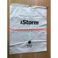 Buy cheap Simple and elegant white cpe rope bag for general purpose packaging product