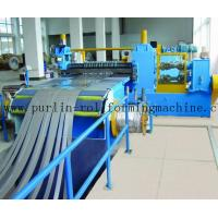 Automatic Control Metal Slitting Machine Durable Carbon Steel / Galvanized Coils