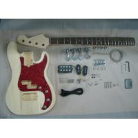 China Four String HB Bass DIY Electric Guitar Kits With Pearl Loid Pickguard AG-BS2 on sale