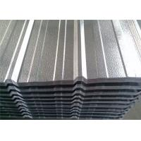 Buy cheap Aluminum 3003 / 1100 Industrial Corrugated Roofing Sheets For Construction product