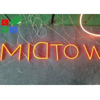 Buy cheap Fashion LED Shop Display Outdor LED Neon Sign With Hided Stainless Steel Backing from wholesalers