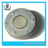 Buy cheap Small Thin Custom Neodymium Magnets , Strong Round Flat Ndfeb Magnet product