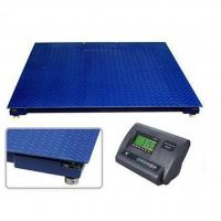 Buy cheap SD Series 1.2*2.2m Floor Weighing Scales 5 T Heavy Duty Single Desk Without Frame product