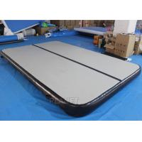 Buy cheap DWF Inflatable Air Track , 4 M Inflatable Tumbling Mat With Repair Kits product