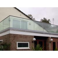 Buy cheap Top Slot Handrail U channel Glass Fixing Balustrade product