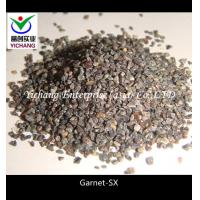 Buy cheap Brown Rock Garnet Grit Size 1-2 Mm Good Hardness For Water Filtration Media product