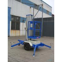 Buy cheap One Mast 8m Aerial Work Platform , 125Kg Towing type product