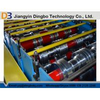 Buy cheap 25m / Min Speed Floor Deck Roll Former Metal Forming Machine With PLC Contol product