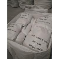 Buy cheap High Hardness White Alumina Granules , Aluminium Oxide Blasting Grit product