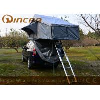 Buy cheap Grey Overland Hard Top Roof Top Tent 5 Sizes For Camping , Roof Box Tent product