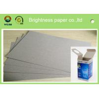 Buy cheap Strong Stifness Clay Coated Paperboard Sheets , Duplex Paper Board For Making Box product