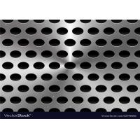 Buy cheap Galvanized Perforated Metal Sheet / Punching Metal Panel Width Customized product
