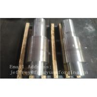 Buy cheap Open Die Forged Alloy Steel Carbon Steel Shaft / Forging Products product
