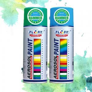 Buy cheap All Purpose Acrylic Spray Paint Metallic / High Heat / Fluorescent / Hammer Application product