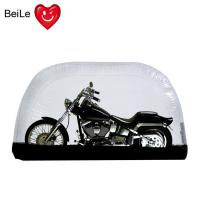 Buy cheap Folding bubble transparent PVC inflatable motorcycle tent cover product