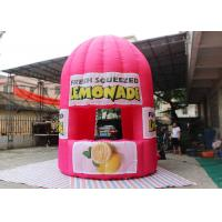 Buy cheap Purple Red Advertising Inflatable Tent 4 M Tall Lemonade Store For Event product