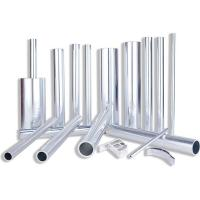Buy cheap 300mm Diameter 6063 Aluminum Alloy Tube Anodized / Oxidation Surface Treatment product