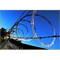 Buy BTO-10 BTO-12 Stainless Steel Concertina Razor Wire Corrosion Resistance at wholesale prices