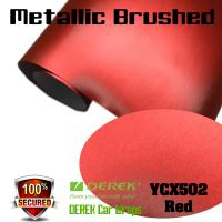 Buy cheap Matte Metallic Brushed Vinyl Wrapping Film - Matte Metallic Brushed Red product