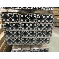 Buy cheap Silver And Black Anodized 6063 T5 Aluminum T Slot Profile / Aluminum Frame Extrusions product