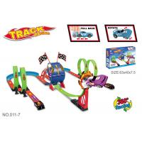 Buy cheap Multiple Rolling Children's Car Race Track Sets With Two Way Driving Pull Back product