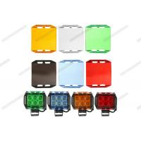 Quality Multi Color Automotive Lighting Accessories 3'' 6 '' Black Amber LED Light Bar Cover for sale