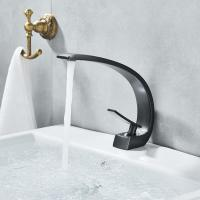 Buy cheap Single Handle Bathroom Basin Faucets , Polished Brass Bathroom Sink Faucet from wholesalers