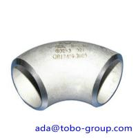 Buy cheap Stainless Steel Elbow Pipe ASTM A182 F51 / UNS31803 / 1.4462 DN 15-1500 product