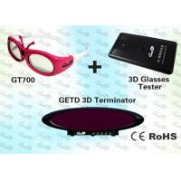 Buy cheap OEM Video 3D IR emitter and glasses for Cybercafé  product