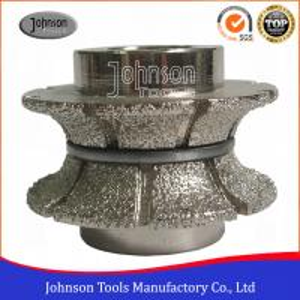 Buy cheap Full Bullnose Vacuum Brazed Diamond Tools Hight Efficiency No.20 product