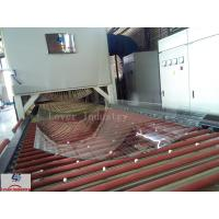 Buy cheap Jumbo Glass Tempering Glass Bending Furnace Soft Rollers Bending Type from wholesalers