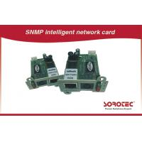 Quality Remote Monitoring UPS Accessories , SNMP / AS400 Card For UPS for sale