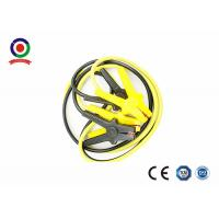 Buy cheap Universal Automotive Booster Cables 500A Black And Yellow Iron Clamp 6 Meter product