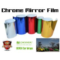 Buy cheap Chrome Mirror Car Wrapping Vinyl Film 3 layers - Chrome Rose Red product
