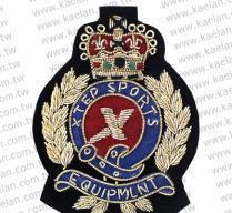 China Bullion Wire Badges on sale