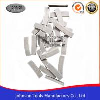Buy cheap 350mm Diameter Diamond Segments for Brazed on Saw Blades with Long Life product
