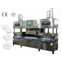 Buy cheap 400Kw 7000Pcs / H Paper Cup And Plate Making Machine Dry In Mould product