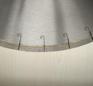 Buy cheap 450mm 18 Inch Porcelian Ceramic Tile Saw Blades Silver Welded J Slot Diamond Tile Blade product