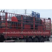 Buy cheap High Torque Industrial Waste Shredder Small Noise Stable Performance from wholesalers