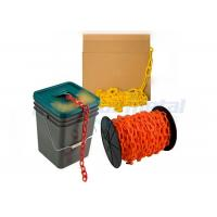 Buy cheap Custom Traffic Use Coloured PE Plastic Coated Chain Link For Airport / Station product