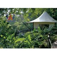 Quality Future Trend Permanent Tent Structures , Luxury Glamping Tents For Wildness Motel for sale