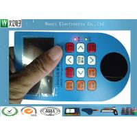 Buy cheap Side Light LED Backlit Embossing Membrane Switch With Polydome product